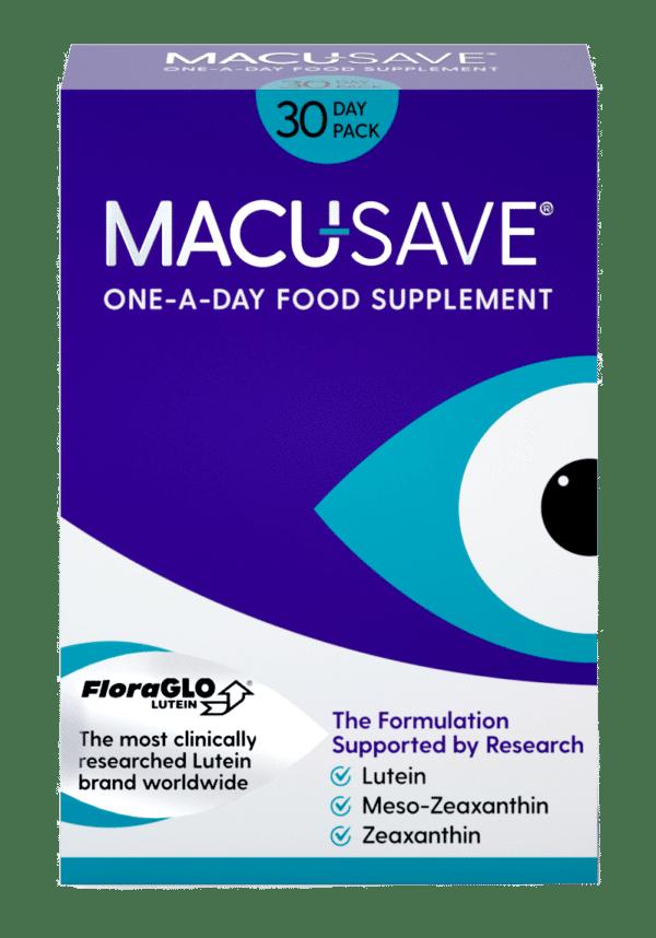 Macu-Save Food Supplement - Macular Degeneration