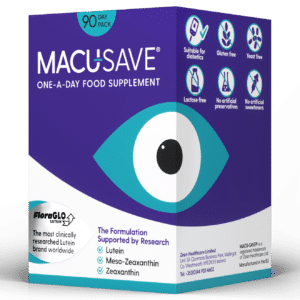 Macu-SAVE Eye Supplement with Meso-Zeaxanthin capsules